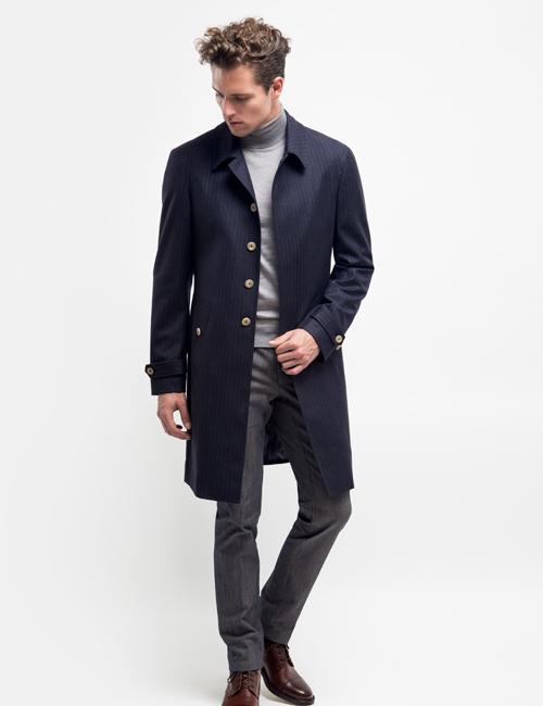 Made to measure & bespoke overcoat