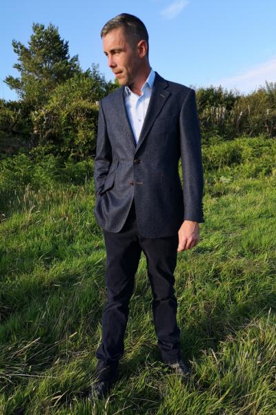 Made to Measure tweed suit