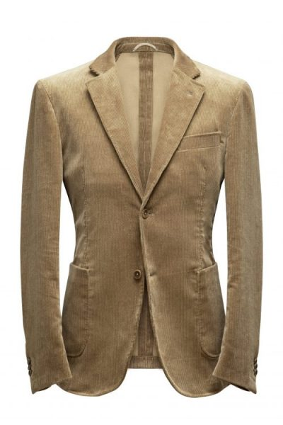 Corduroy made to measure suit